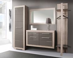 hall furniture Laundry Room Design, Home Room Design, Interior Design Living Room, Hall Furniture, Furniture Design, Tall Kitchen Cabinets, Console Table Styling, Flur Design, Dressing Table Design