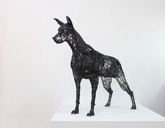 Human Size Wire Sculptures by Yong Won Song (4)