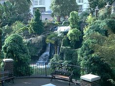 Opryland Hotel before the Nashville flood. A great and fun place to stay and it's right next door to a ginormous Bass Pro Shop. What could be better?