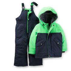2-Piece Colorblock Snowsuit | Carter's