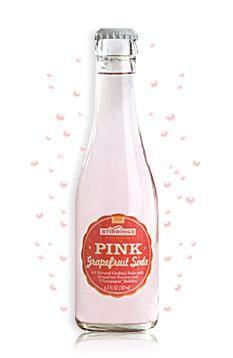 pink grapefruit soda