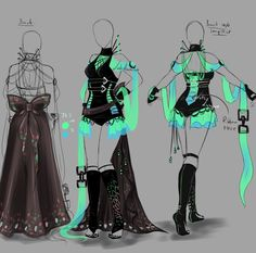 Outfit design - 151 - closed by LotusLumino on DeviantArt