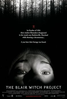 The Blair Witch Project (1999) ~  Biggest hoax in movie history. They sure made a bundle off of it. I wanted to slap this chick more than I did Jamie Lee Curtis in Halloween.