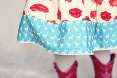 Skirt DIY, no pattern necessary! CoupleJones.com