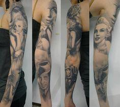 Artist Jp Wikman Beautiful Mailyn Monroe Sleeve