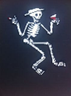 Social Distortion Perler Bead pattern the first by Emmanuel Maldonado