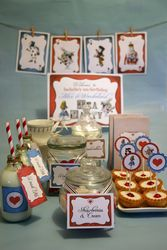 "Alice in Wonderland / Birthday ""Alice in Wonderland Party""   Catch My Party"