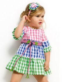 cocorico moda infantil: ULTIMO VESTIDO VICHY