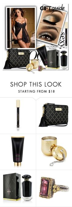 """""""VS Sexy Gift Guide"""" by wanda-india-acosta ❤ liked on Polyvore featuring Victoria's Secret and Two's Company"""