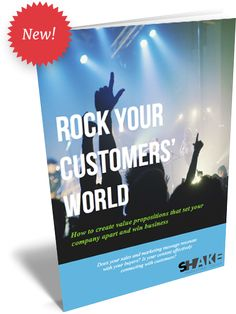 "Free e-book! ""Rock your Customers' World"" with impactful messages"