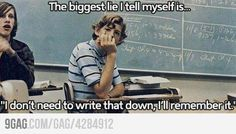 Funny pictures about Biggest Lie in My College Life. Oh, and cool pics about Biggest Lie in My College Life. Also, Biggest Lie in My College Life photos. Funny School Pictures, Funny Quotes, Funny Memes, Hilarious Jokes, Teen Quotes, Humor Quotes, Music Quotes, Qoutes, Get Educated