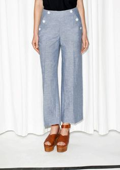 Ahoi, Matrosen-Chic! Sailor Pants trifft Culottes bei & Other Stories