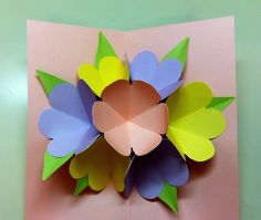 Pop Up Mother's Day Card #howto #tutorial