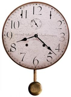 Found it at Clockway.com - 13in Howard Miller Wall Clock - CHM2274