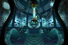 Tardis Console Room 2D by calamitySi.deviantart.com on @DeviantArt