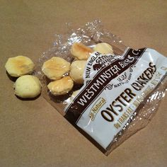 New England Original Oyster Crackers @ Quarterdeck by triwit, via Flickr