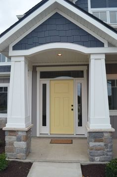 Yellow Door Paint Color. Yellow Front Door Paint Color. Benjamin ...
