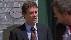 """The TV series """"House"""" owes quite a bit to Sherlock Holmes. Besides the acknowledged parallels - Greg House/Sherlock Holmes and James Wilson /John Watson, there are a number of references and running jokes, such as House's address being 221B"""