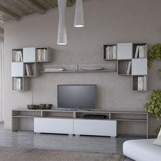 Wall Units, Tv Unit, Flat Screen, Living Room, House, Blood Plasma, Home, Flatscreen, Home Living Room