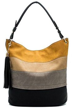 Handbags for women totes Hobo Shoulder Bags Tassels Stripes Top Handle Bags gift., Handbags for women totes Hobo Shoulder Bags Tassels Stripes Top Handle Bags gift for valentine's day - Black - Bags, Hobo Bags Canvas Handbags, Hobo Handbags, Hobo Bags, Women's Bags, Hobo Purses, Bag Women, Burberry Women, Small Shoulder Bag, Shoulder Strap