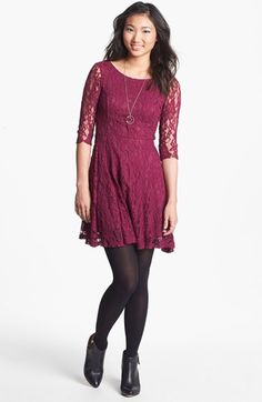 Lace dresses have been trending for a long time now and come in many different styles, lengths, and for various occasions. Kathryn Snyder.
