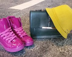 """""""Color for this winter #perple #green #yellow #loveit  #komonobymika"""""""