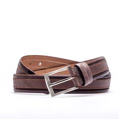 2-Color Leather Belt by DERIBAZAAR on Etsy https://www.etsy.com/listing/228781508/2-color-leather-belt