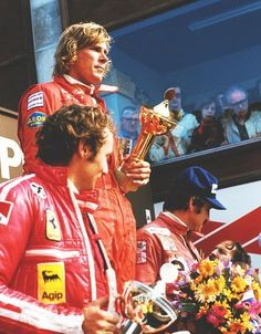 James Hunt the victor