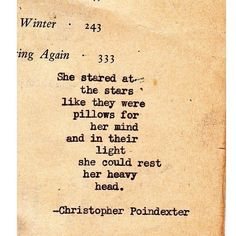 Christopher Poindexter..