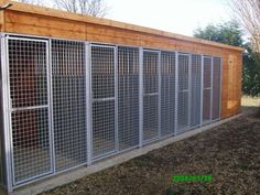 Dog breeding kennel