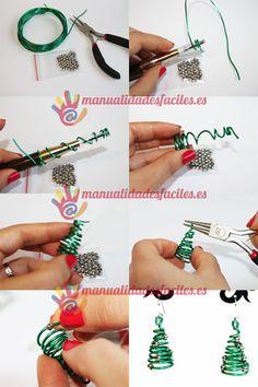 Tutorial: Tiny wire Christmas tree