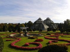 Serres du château de Schönnbrun http://www.trace-ta-route.com/bienvenue-vienne-la-ville-des-palais-des-vignes/ #TraceTaRoute www.trace-ta-route.com