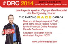 Online Revealed Conference Multiple Registration Discounts + Win an iPad Mini! #ORC2014 @Online Revealed Canada #tourism