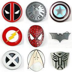 #Senmi superhero avengers #metal belt buckle deadpool #marvel dc cosplay iron man, View more on the LINK: http://www.zeppy.io/product/gb/2/141635008727/