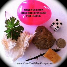How to make your own Resurrection Eggs...printable verses & story script!