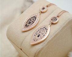 Men's 18k Rose Gold Plated Leopard Head Fashion Necklace Titanium Steel Men Women Jewelry
