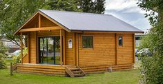 Often referred to as 'eco tiny homes', this 2-bedroom chalet style sleepout or…