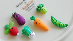 Polymer clay veggie idea