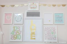 Favorite Nursery Gallery Wall Ideas - Project Nursery