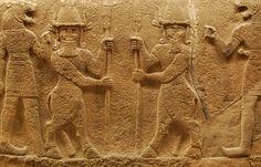 Neo-Hittite 'Kusarikku' mythological beasts, Museum of Anatolian Civilizations 1200-700 BCE