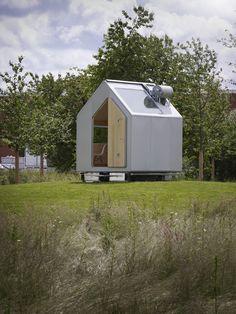 Renzo Piano crea Diogene, una casa mínima experimental que puede visitarse en el Vitra Campus. - diariodesign.com