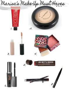 My Make-Up Must Haves    #makeup #m.a.c #benefit #musthave #cosmetics