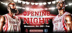(0-1) Bobcats 83-96 Rockets (1-0)