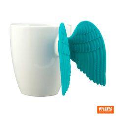 Mug Angel Time Mavi   Angel   En Güzel ve En İlginç Hediyeler   Karınca Design