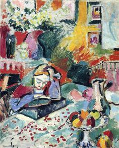 Interior with a Girl Reading - Henri Matisse