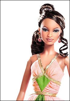 Mattel releases Barbie Doll to recognize Alpha Kappa Alpha Sorority Inc., the first African American Greek-Letter Sorority.