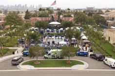 Large Event in Luce Court and Legacy Plaza