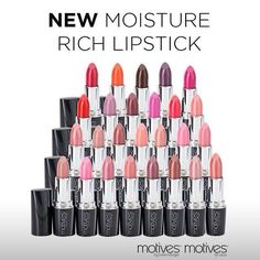 New product moisture rich lipstick you can get it ay : wwww.wisemakeup.com