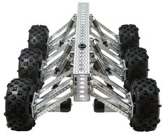 The MantisTM will take your off-road robotics excursions to the next level! The bug-like chassis offers extreme A-arm style suspension and n. Robot Kits, Rc Robot, Mechanical Design, Mechanical Engineering, E Quad, Robot Chassis, Robot Images, Mobile Robot, Robotics Projects