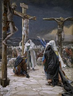 "James Tissot: ""The Death of Jesus"", 1894. (Brooklyn Museum, New York City, USA) https://www.brooklynmuseum.org/"